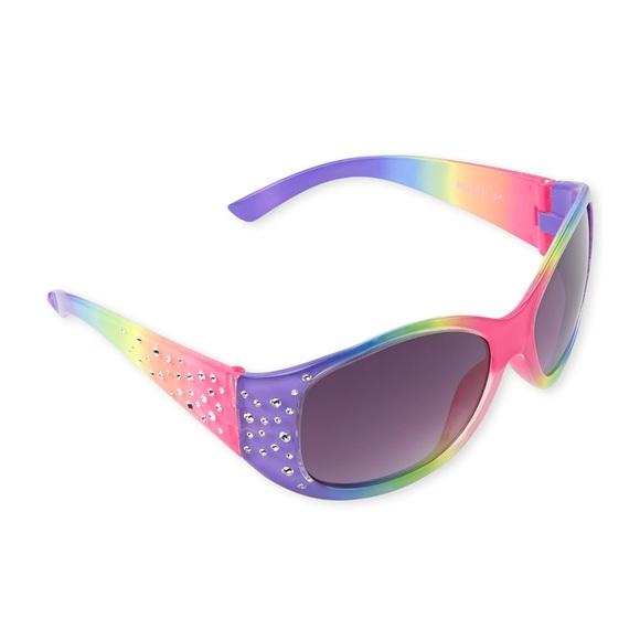 FREE Girls Rainbow sunglasses with sparkles